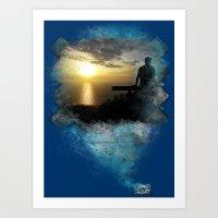 Divine Capture Art Print