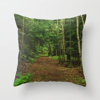 Pathfinder I Throw Pillow