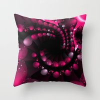 Berry Splash Throw Pillow