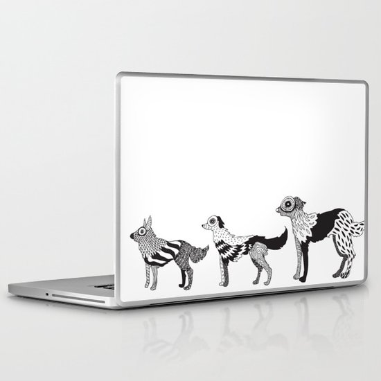 Andersen dogs Laptop & iPad Skin