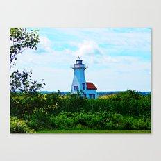 New London Lighthouse Canvas Print