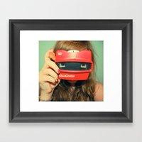 View-Master 3D Framed Art Print