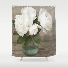 Peony Romance  Shower Curtain