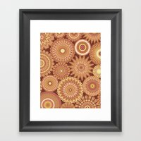 Kaleidoscopic-Canyon Col… Framed Art Print