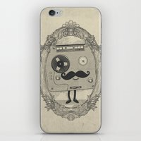 Old Time Story iPhone & iPod Skin