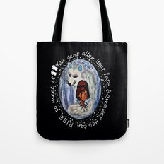 Princess Mononoke in chalk Tote Bag