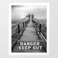 Danger Danger Art Print
