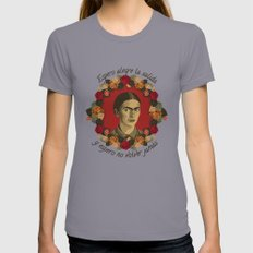 FRIDA Womens Fitted Tee Slate SMALL