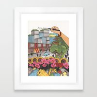 A better tomorrow Framed Art Print