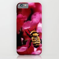 iPhone & iPod Case featuring Busy Bumblebee by Shadorma