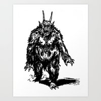 La Créature/The Creature Art Print