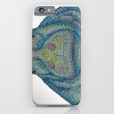 Hippie-Potamus (Blue) iPhone 6 Slim Case