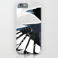 Magpie In Flight iPhone 6 Slim Case
