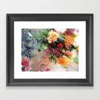 Four Seasons In One Day Framed Art Print