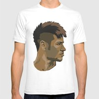 Neymar Mens Fitted Tee White SMALL