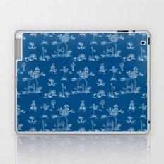 Toile Blue Unicorn Laptop & iPad Skin
