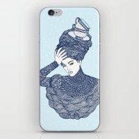 ♥ Early Winter,  Tea T… iPhone & iPod Skin