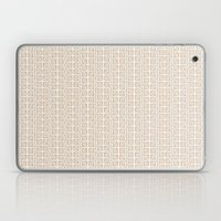 Into the Woods Leaves cream Laptop & iPad Skin