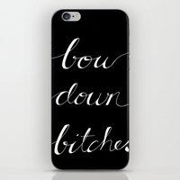 Bow Down Part Two iPhone & iPod Skin