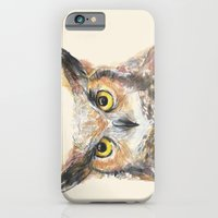 iPhone & iPod Case featuring Owl  by Olechka
