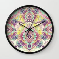 Opal With Phantoms  Wall Clock