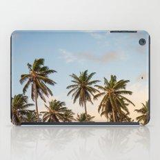 Sky beach palmier iPad Case