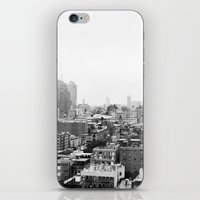 Lower East Side Skyline … iPhone & iPod Skin