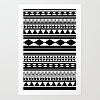 Tribal #5 Art Print