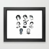 A Hero With A Thousand Faces Framed Art Print