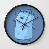 Singing In The Shower? Wall Clock