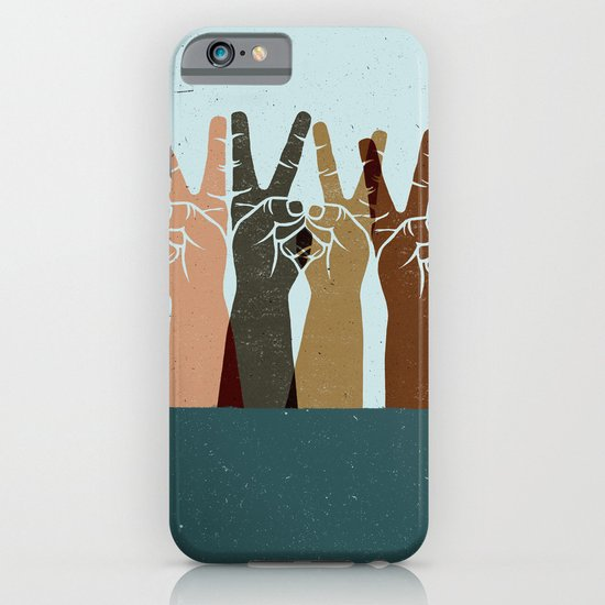 UNITED IN PEACE iPhone & iPod Case