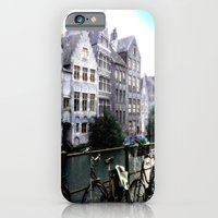 Gent, Belgium Postcard/P… iPhone 6 Slim Case
