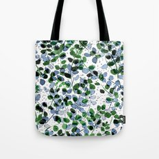 Synergy Blue and Green Tote Bag