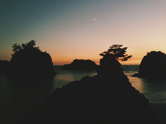 Southern Oregon Coast Sunset Art Print