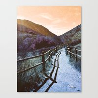 Mission Trails Canvas Print