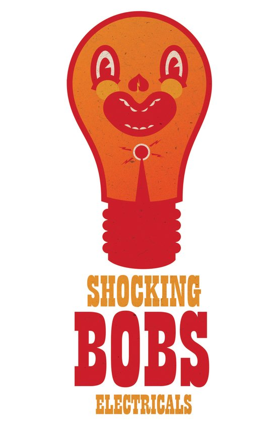 "Laugh Out Logos - ""Shocking Bob"" Art Print"