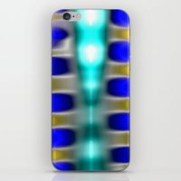 Space  Beams A iPhone & iPod Skin