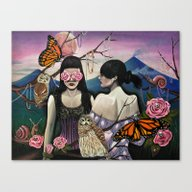 Canvas Print featuring Isabela At Cristina by Victoria Viray