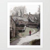 i feel winter... Art Print