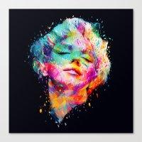 Marilyn portrait Canvas Print