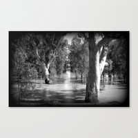 Line of Light Canvas Print