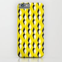 Yellow Petal Lines iPhone 6 Slim Case