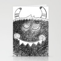 Monster O'Maley  Stationery Cards