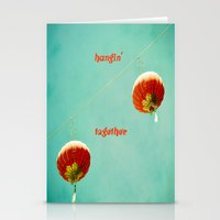 Hangin' Together Stationery Cards