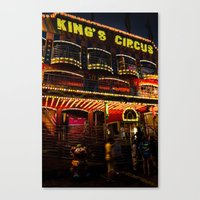 King's Circus Canvas Print