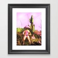 Teonanakah Framed Art Print