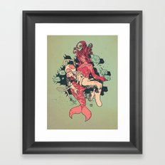 Mermieta Framed Art Print