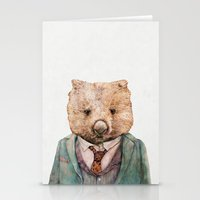 Wombat Stationery Cards