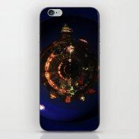 Manhattan Island Moonlig… iPhone & iPod Skin