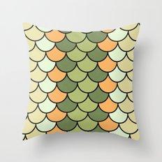 Citrus Tones Throw Pillow